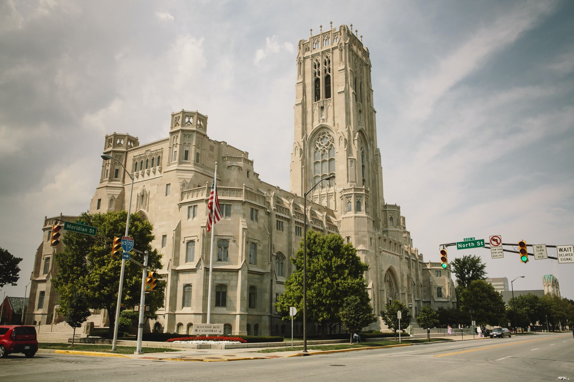 Scottish Rite Cathedral in Indianapolis